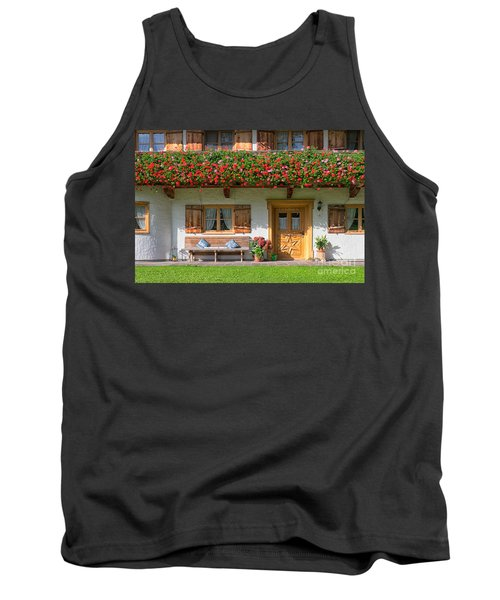 Tank Top featuring the photograph Bavarianstyle by Juergen Klust