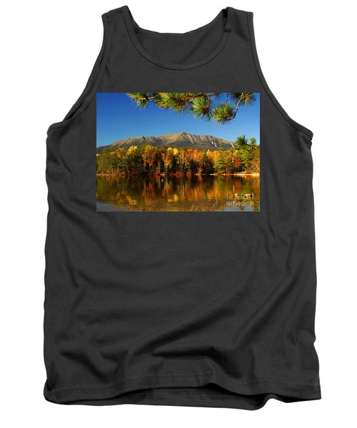 Baxter Fall Reflections  Tank Top by Alana Ranney