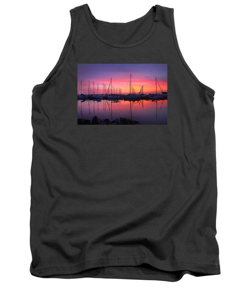 Bayfield Wisconsin Magical Morning Sunrise Tank Top