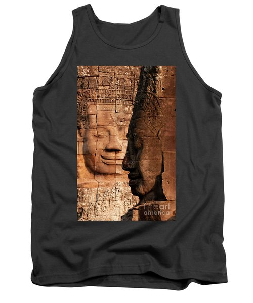 Bayon Faces 02 Tank Top