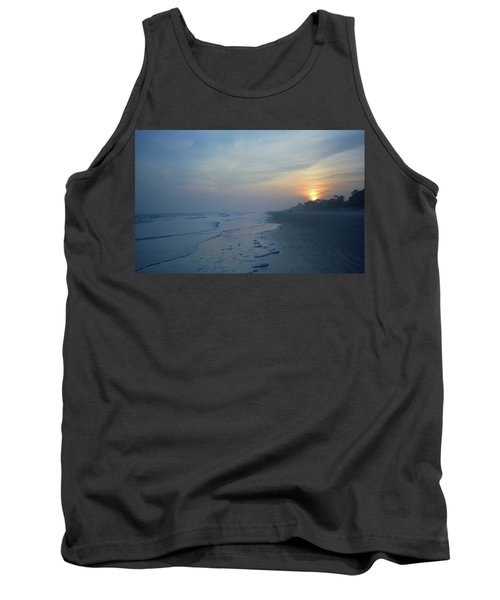 Beach And Sunset Tank Top