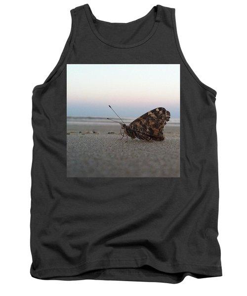 Beach Butterfly.  Tank Top