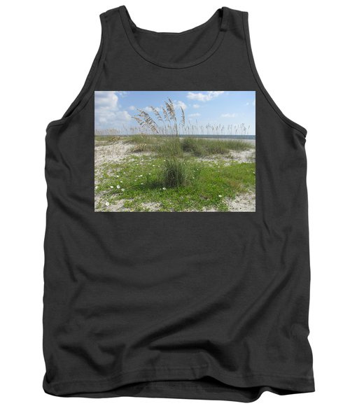 Beach Flowers And Oats 2 Tank Top
