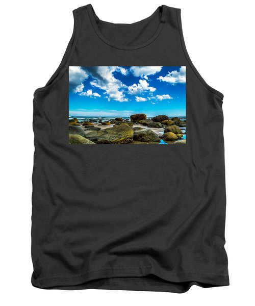 Beachfront Boulders Tank Top