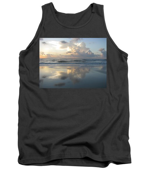 Beautiful Beach Sunrise Tank Top
