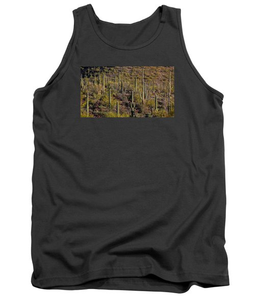 Tank Top featuring the photograph Beautiful Desert Morning by Elaine Malott