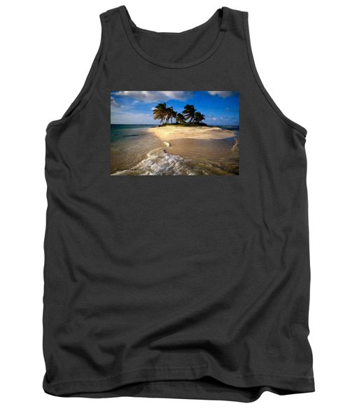Tank Top featuring the painting Beautiful Island by Bruce Nutting