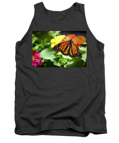 Beautiful Monarch Butterfly Tank Top