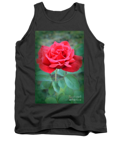 Beautiful Morning Rose  Tank Top