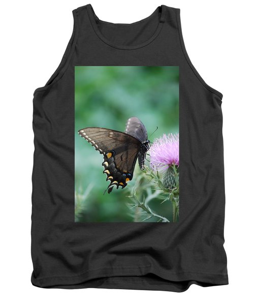 Beauty And Thistle Tank Top by Eric Liller
