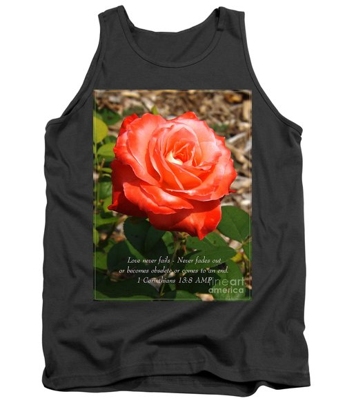 Beauty At Its Best Tank Top by Sara  Raber