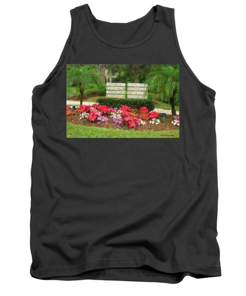 Beauty At Pelican Cove Tank Top by Emmy Marie Vickers