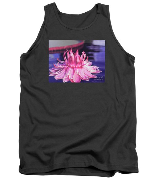 Tank Top featuring the photograph Beauty Of Pink At The Ny Botanical Gardens by Chrisann Ellis