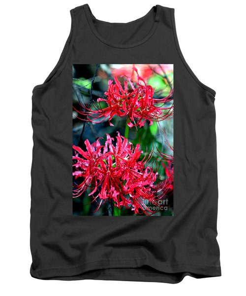 Beauty Of Red Spider Lilies Tank Top