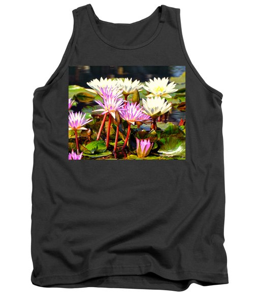 Tank Top featuring the photograph Beauty On The Water by Marty Koch