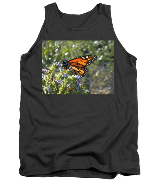 Bee And Monarch  Tank Top