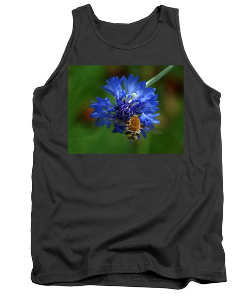 Tank Top featuring the photograph Bee by Leticia Latocki