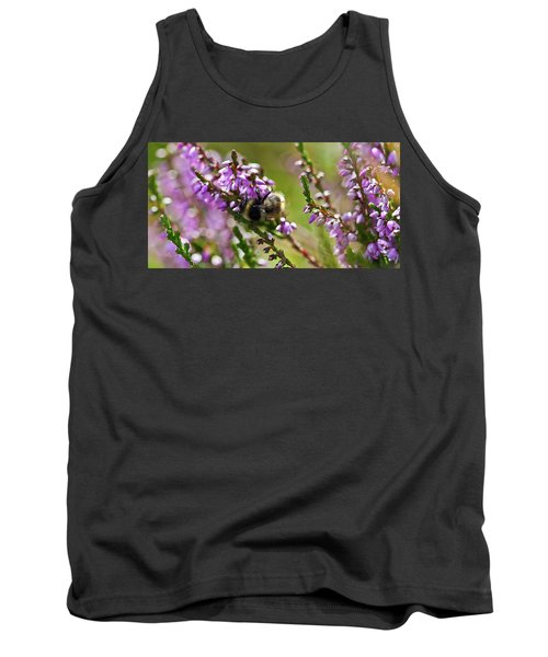 Bee On Heather Tank Top
