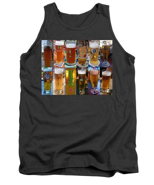 Beers Of Europe Tank Top