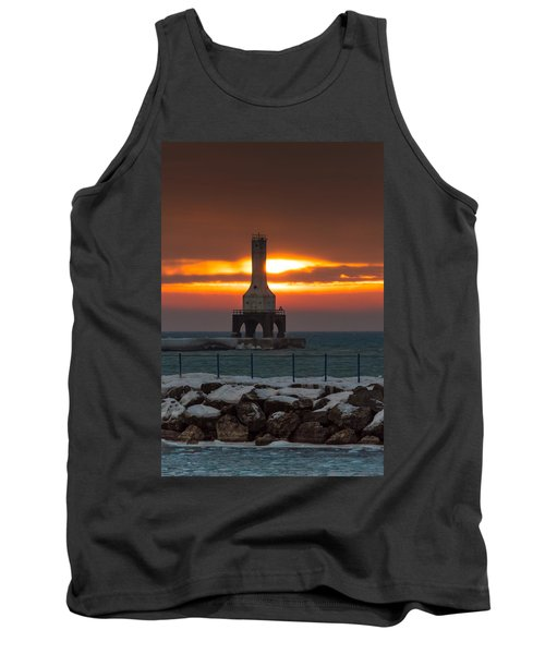Before The Blizzard Tank Top by James  Meyer