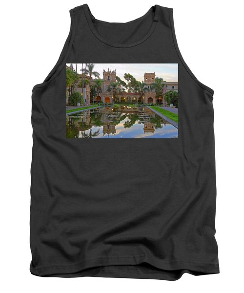 Tank Top featuring the photograph Before The Crowds by Gary Holmes