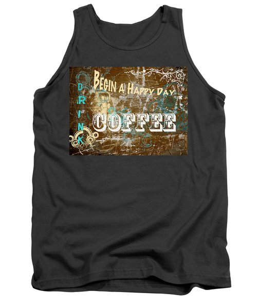 Begin A Happy Day Tank Top