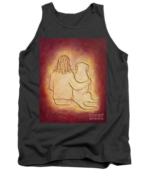 Being There 3 - Dog And Friend Tank Top