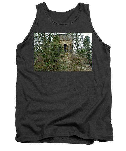 Tank Top featuring the digital art Bell Tower by Jeannie Rhode