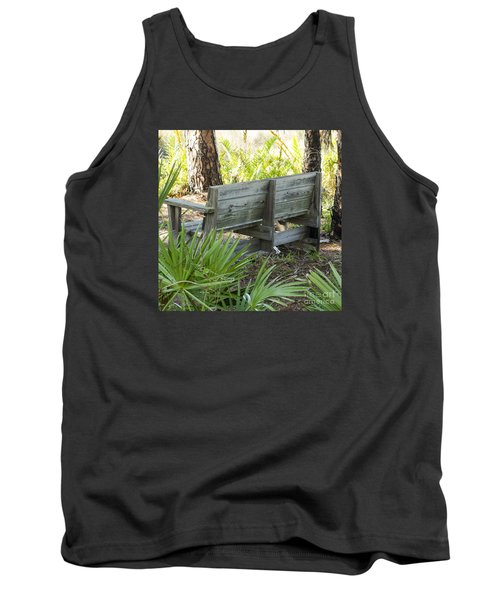 Bench In Nature Tank Top