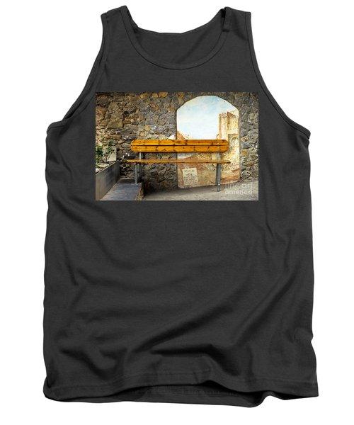 Bench In Riomaggiore Tank Top