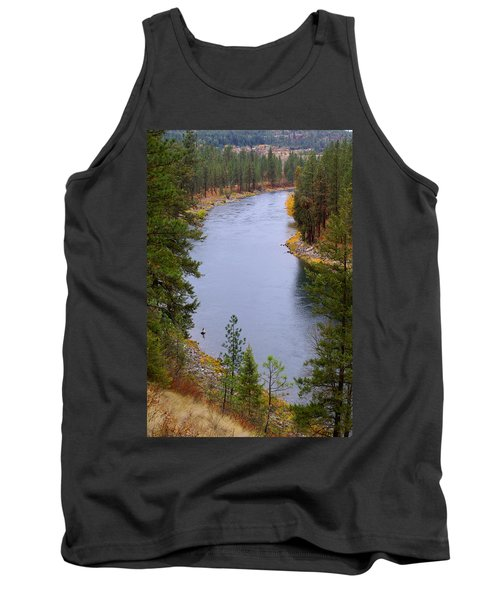 Bend In The River Tank Top