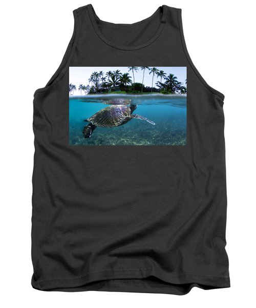 Beneath The Palms Tank Top
