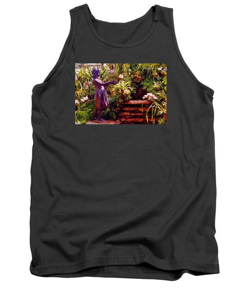 Between The Steps Tank Top by Daniel Thompson