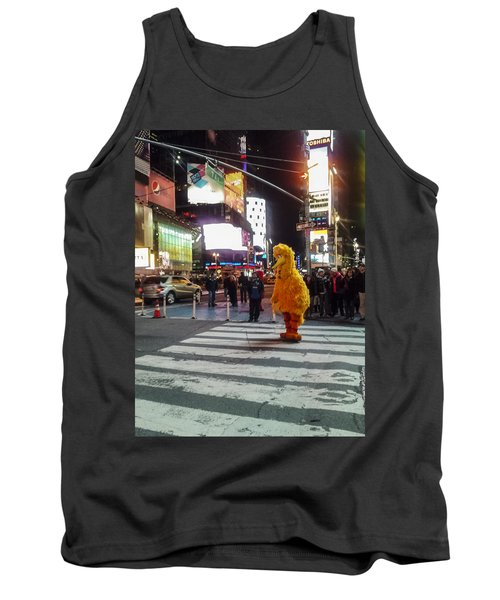 Big Bird On Times Square Tank Top