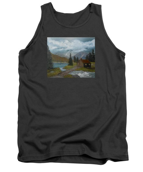 Big Storms A Comin' Tank Top by Sheri Keith