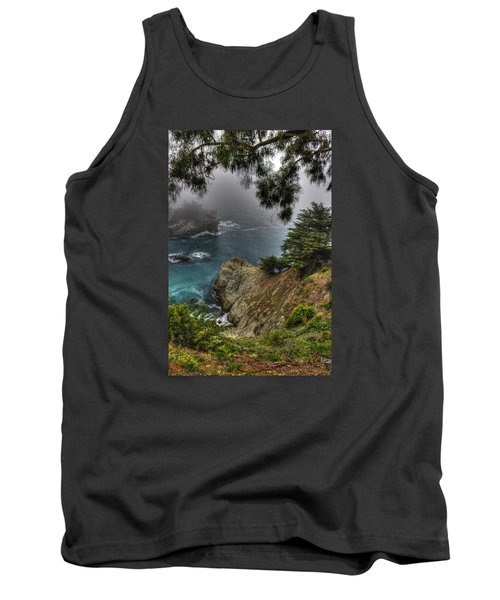 Big Sur Julia Pfeiffer State Park-1 Central California Coast Spring Early Afternoon Tank Top