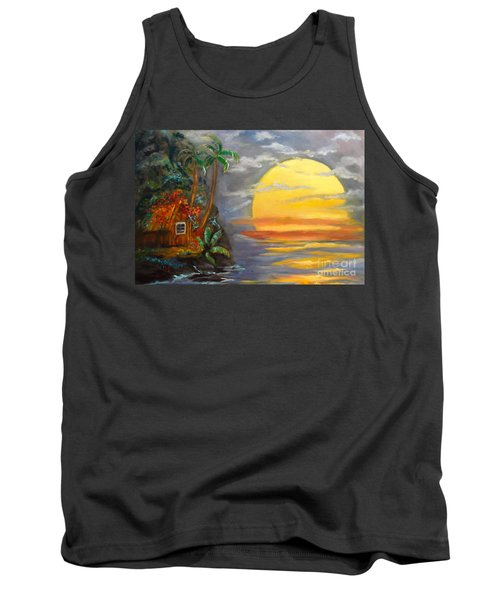 Magical Sunser Jenny Lee Discount Tank Top