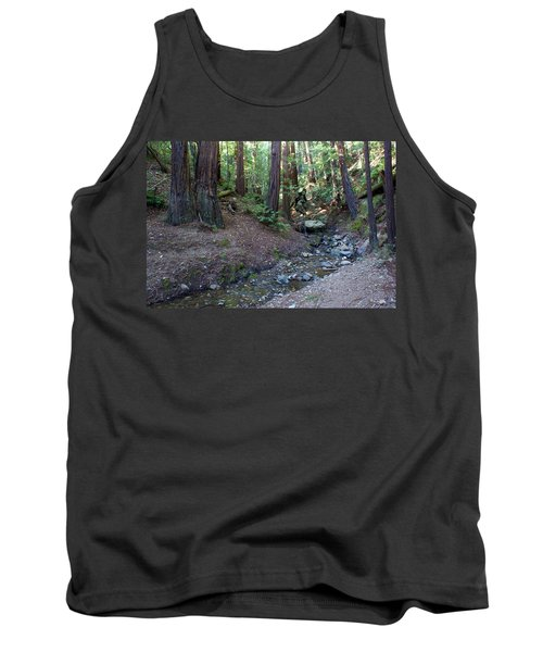 Bigfoot On Mt. Tamalpais Tank Top