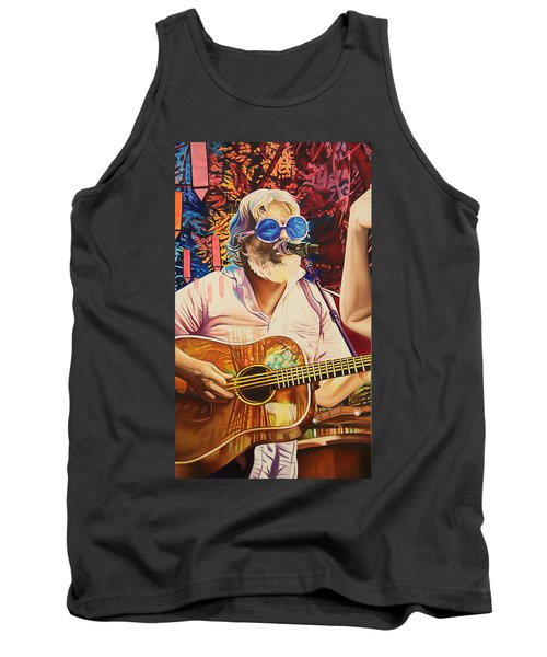 Bill Nershi At Horning's Hideout Tank Top by Joshua Morton