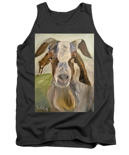 Tank Top featuring the painting Billy by Donna Tuten