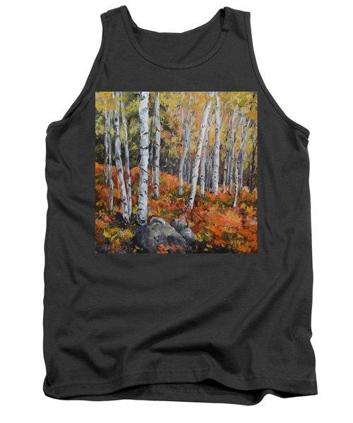 Birch Trees Tank Top