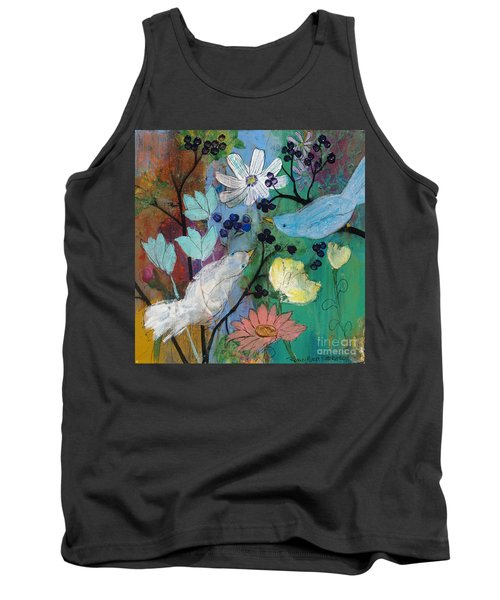 Birds And Berries Tank Top