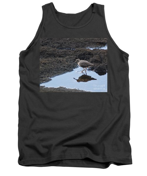Bird's Reflection Tank Top by Belinda Greb