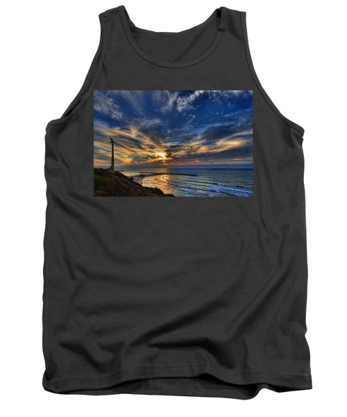 Tank Top featuring the photograph Birdy Bird At Hilton Beach by Ron Shoshani