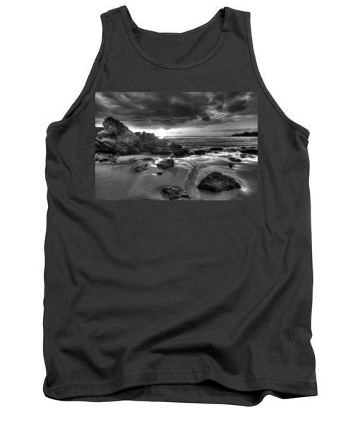 Black And White Laguna Beach Tank Top
