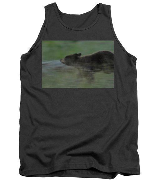 Black Bear Cub Tank Top