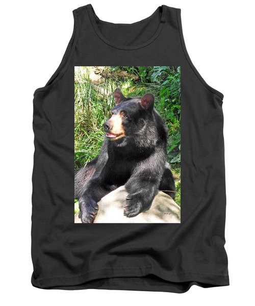 Black Bear Tank Top