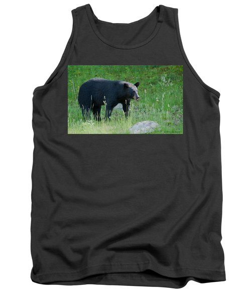 Black Bear Female Tank Top