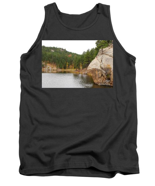 Black Hills Lake Tank Top by Mary Carol Story