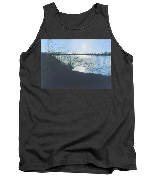 Black Swan Lake Tank Top by Joanne Perkins